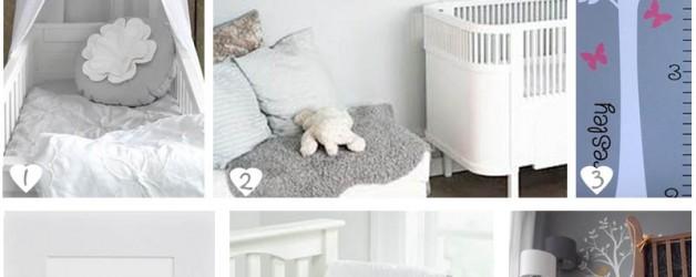 Baby & Kids: Nursery grigio/argento