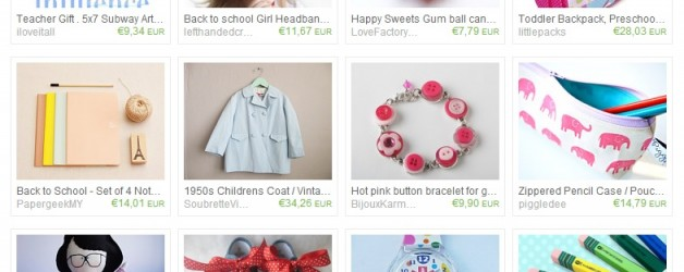 I love Etsy: School Sweet School