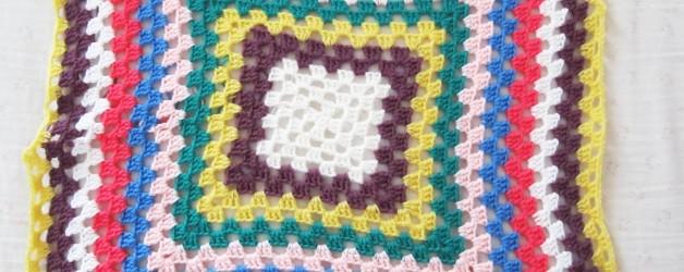 What's new: WIP copertina all'uncinetto granny square – quadrato della nonna