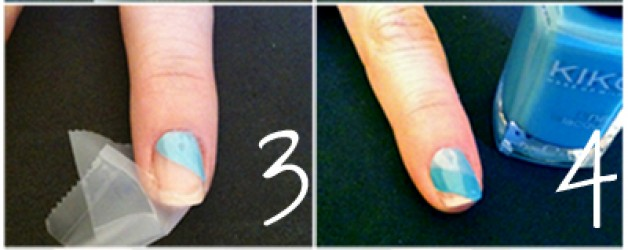 Learn with F4M ♥ Tutorial nail art strisce