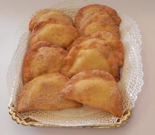 ravioli dolci fritti - ricetta