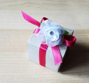 tutorial scatola bomboniere fai da te