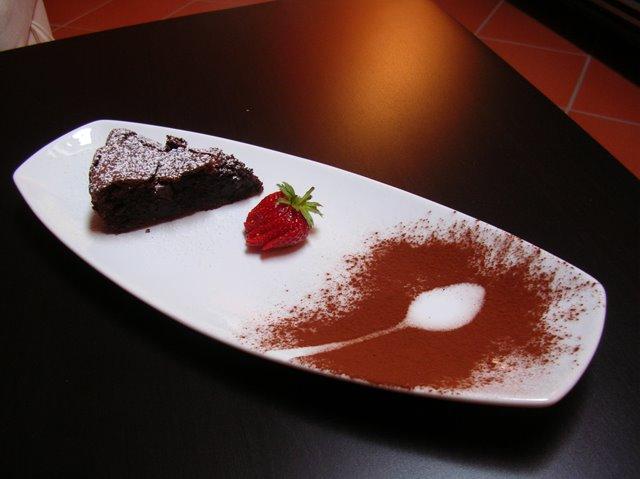 torta morbida cioccolato fondente