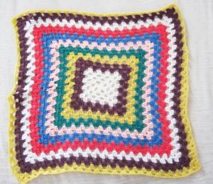 granny blanket copertina uncinetto quadrato della nonna