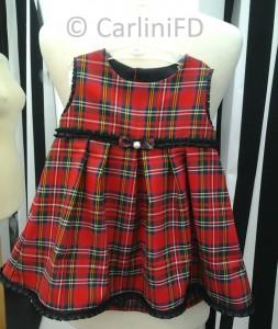 CarliniFD vestito scozzese